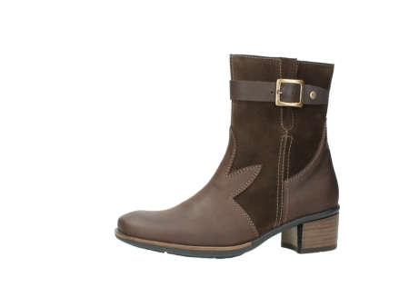 wolky mid calf boots 00934 dalton 50300 brown oiled leather_24