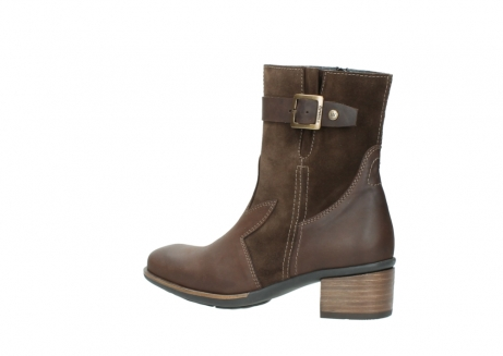 wolky mid calf boots 00934 dalton 50300 brown oiled leather_3