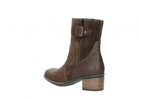wolky mid calf boots 00934 dalton 50300 brown oiled leather_4