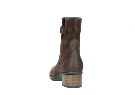 wolky mid calf boots 00934 dalton 50300 brown oiled leather_6