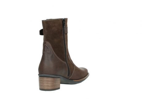wolky mid calf boots 00934 dalton 50300 brown oiled leather_9
