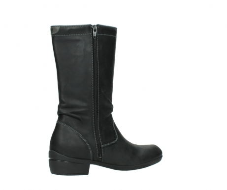 wolky mid calf boots 00953 silverado 50002 black leather_11
