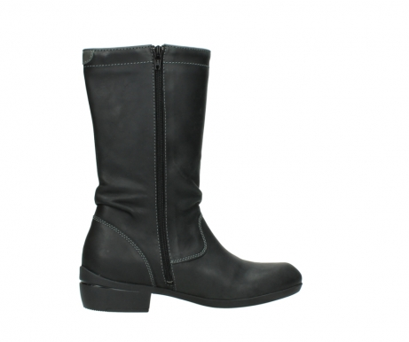 wolky mid calf boots 00953 silverado 50002 black leather_12