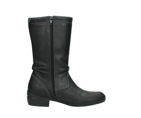 wolky mid calf boots 00953 silverado 50002 black leather_13