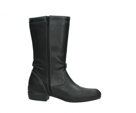 wolky mid calf boots 00953 silverado 50002 black leather_14