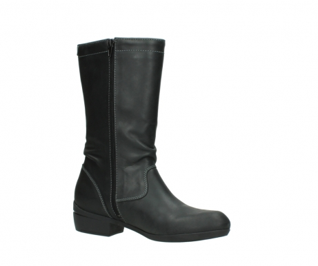 wolky mid calf boots 00953 silverado 50002 black leather_15