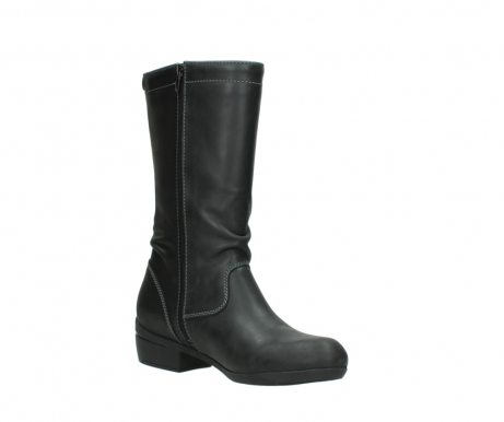 wolky mid calf boots 00953 silverado 50002 black leather_16