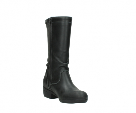 wolky mid calf boots 00953 silverado 50002 black leather_17