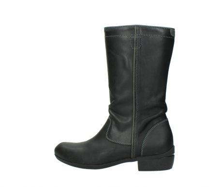 wolky mid calf boots 00953 silverado 50002 black leather_2