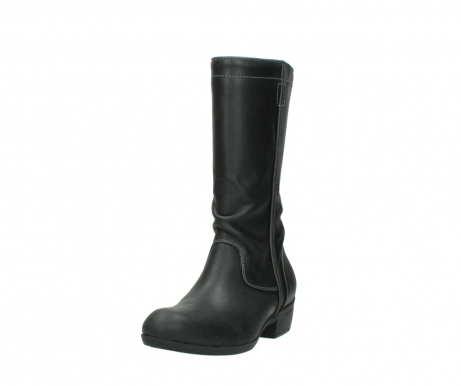 wolky mid calf boots 00953 silverado 50002 black leather_21