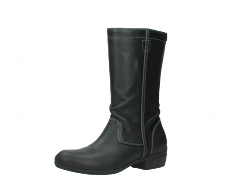 wolky mid calf boots 00953 silverado 50002 black leather_23