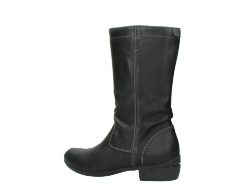 wolky mid calf boots 00953 silverado 50002 black leather_3