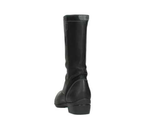 wolky mid calf boots 00953 silverado 50002 black leather_6