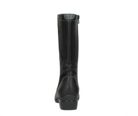 wolky mid calf boots 00953 silverado 50002 black leather_7