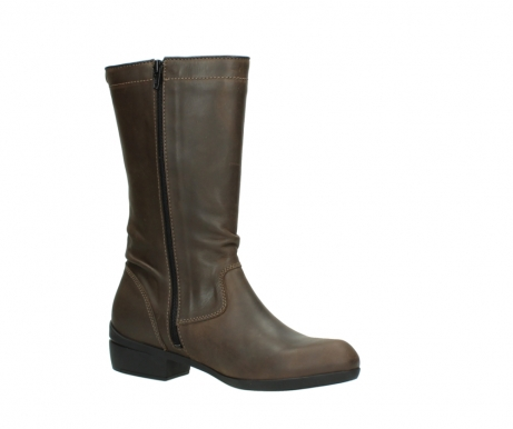 wolky mid calf boots 00953 silverado 50152 taupe leather_15