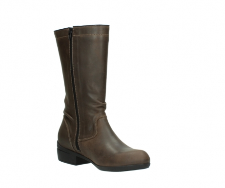 wolky mid calf boots 00953 silverado 50152 taupe leather_16