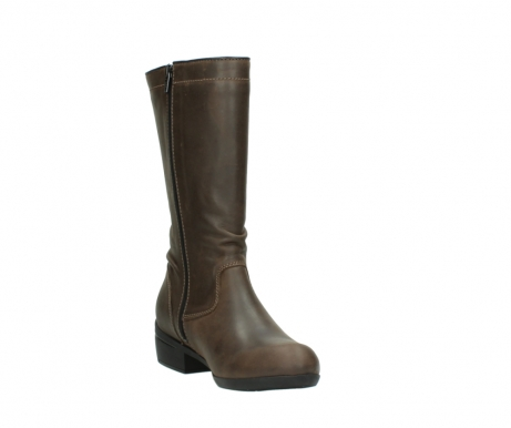 wolky mid calf boots 00953 silverado 50152 taupe leather_17