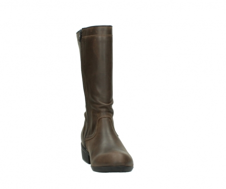 wolky mid calf boots 00953 silverado 50152 taupe leather_18
