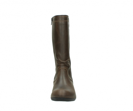 wolky mid calf boots 00953 silverado 50152 taupe leather_19