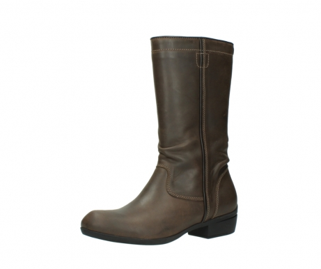 wolky mid calf boots 00953 silverado 50152 taupe leather_23