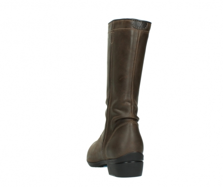 wolky mid calf boots 00953 silverado 50152 taupe leather_6