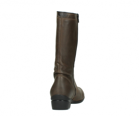 wolky mid calf boots 00953 silverado 50152 taupe leather_8