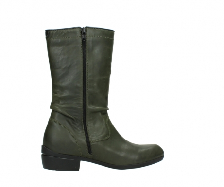 wolky mid calf boots 00953 silverado 50732 forestgreen leather_12