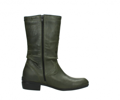 wolky mid calf boots 00953 silverado 50732 forestgreen leather_13