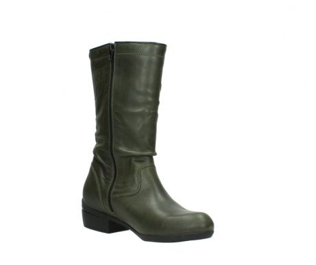 wolky mid calf boots 00953 silverado 50732 forestgreen leather_16
