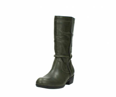 wolky mid calf boots 00953 silverado 50732 forestgreen leather_21