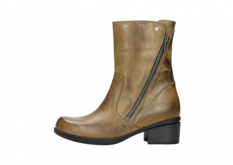 wolky mid calf boots 01376 rialto 30920 ocher yellow leather_1