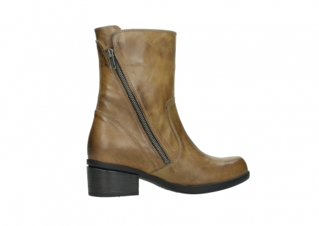 wolky mid calf boots 01376 rialto 30920 ocher yellow leather_12