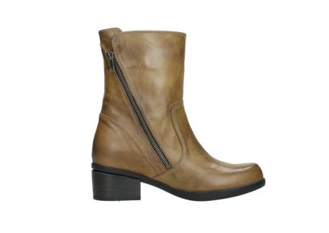 wolky mid calf boots 01376 rialto 30920 ocher yellow leather_13
