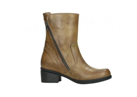 wolky mid calf boots 01376 rialto 30920 ocher yellow leather_14