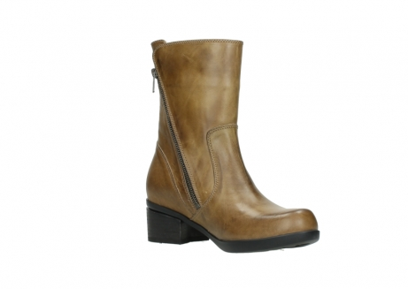 wolky mid calf boots 01376 rialto 30920 ocher yellow leather_16