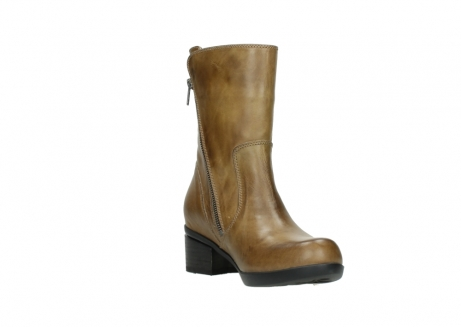 wolky mid calf boots 01376 rialto 30920 ocher yellow leather_17