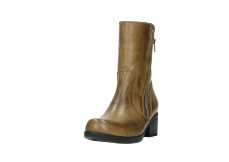 wolky mid calf boots 01376 rialto 30920 ocher yellow leather_21