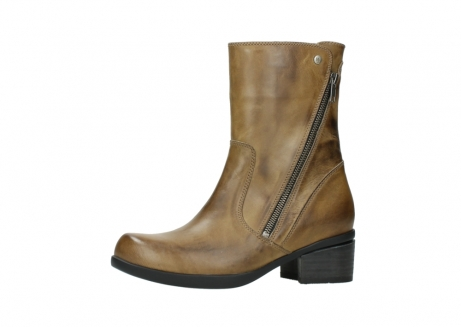 wolky mid calf boots 01376 rialto 30920 ocher yellow leather_24