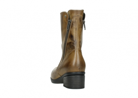 wolky mid calf boots 01376 rialto 30920 ocher yellow leather_6