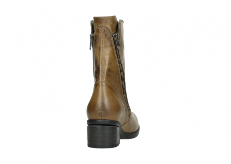 wolky mid calf boots 01376 rialto 30920 ocher yellow leather_8