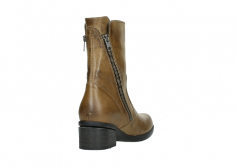wolky mid calf boots 01376 rialto 30920 ocher yellow leather_9