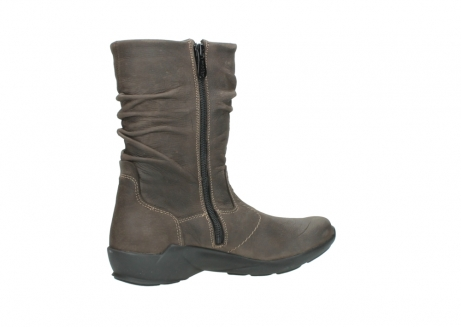 wolky mid calf boots 01572 luna 10300 brown nubuck_11