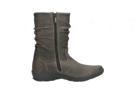 wolky mid calf boots 01572 luna 10300 brown nubuck_13