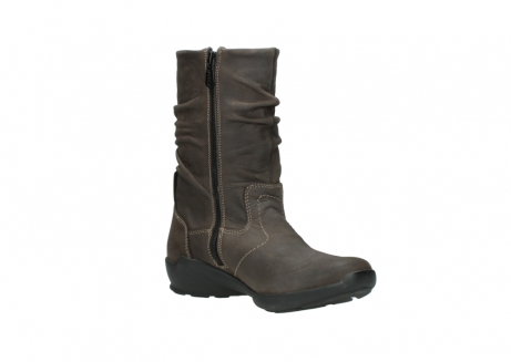wolky mid calf boots 01572 luna 10300 brown nubuck_16