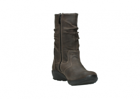 wolky mid calf boots 01572 luna 10300 brown nubuck_17