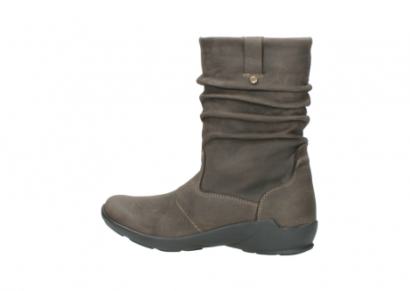 wolky mid calf boots 01572 luna 10300 brown nubuck_2