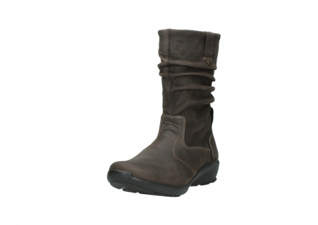 wolky mid calf boots 01572 luna 10300 brown nubuck_21