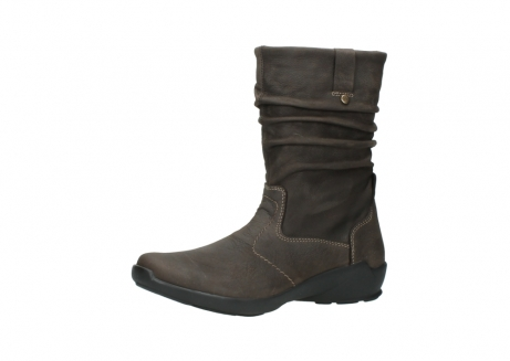 wolky mid calf boots 01572 luna 10300 brown nubuck_23