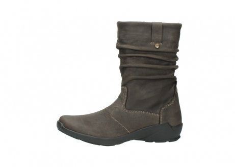 wolky mid calf boots 01572 luna 10300 brown nubuck_24