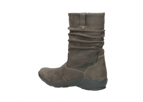 wolky mid calf boots 01572 luna 10300 brown nubuck_3